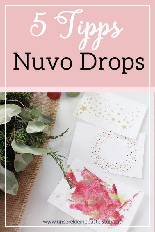 Fenster #15 Tipps mit Nuvo Drops | Unsere kleine Bastelstube - DIY Bastelideen für Feste & Anlässe