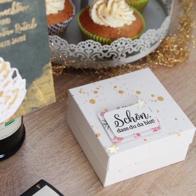 Fenster #2 Weihnachtliche Box für kleine Geschenke. | Unsere kleine Bastelstube - DIY Bastelideen für Feste & Anlässe
