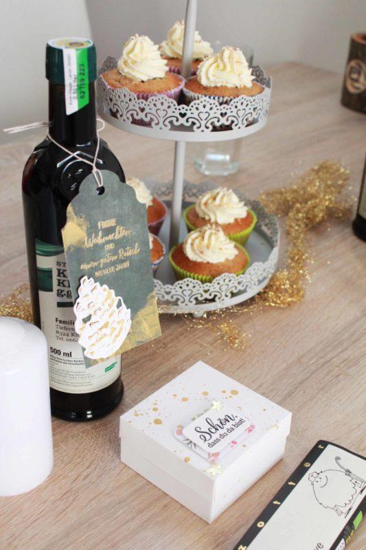 Fenster #13 Rezept Bratapfel Cupcakes | Unsere kleine Bastelstube - DIY Bastelideen für Feste & Anlässe