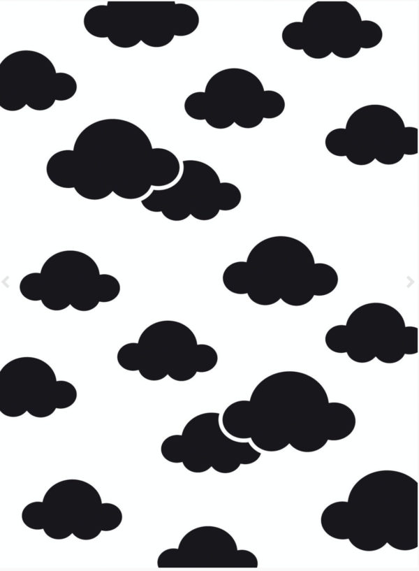 Prägeschablone Wolken- Darice | Unsere kleine Bastelstube - DIY Bastelideen für Feste & Anlässe