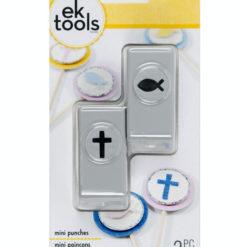 EK tools Handstanzen mini Kreuz und Fisch