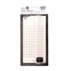Mini Papierschneider Paperfuel schwarz weiß