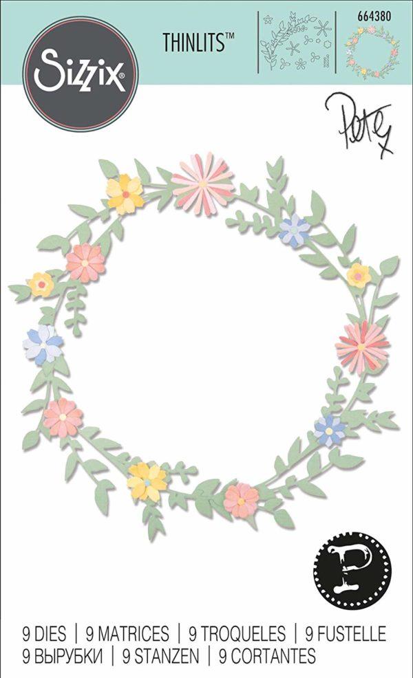 Thinlits Frühlingsblätter- Sizzix