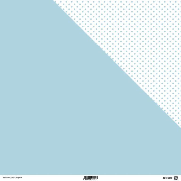 Designpapier Dusty Blue-ModaScrap