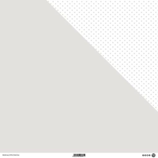 designpapier pastel grey modascrap