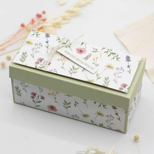 DIY Geschenkidee zur Hochzeit - Gutschein kreativ selber verpacken