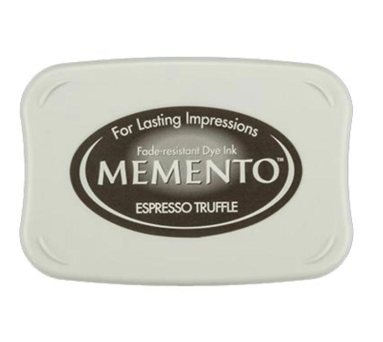 Memento Stempelkissen - Espresso   Unsere kleine Bastelstube - DIY Bastelideen für Feste & Anlässe