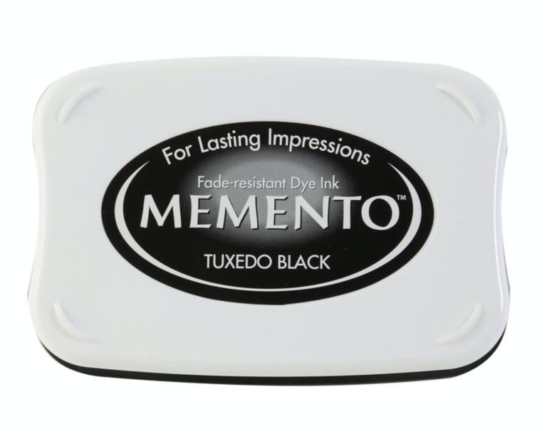 Memento Stempelkissen - tuxedo black | Unsere kleine Bastelstube - DIY Bastelideen für Feste & Anlässe