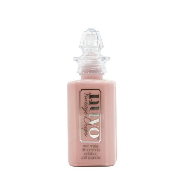 Nuvo vintage drops Dusty Rose