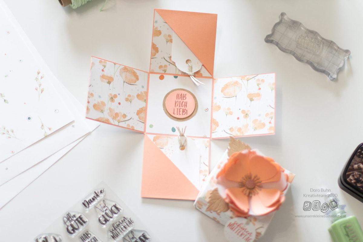 DIY Muttertagsgeschenk - Explosionsbox