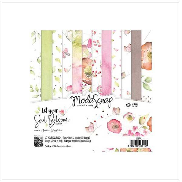 modascrap let you soul bloom 6x6