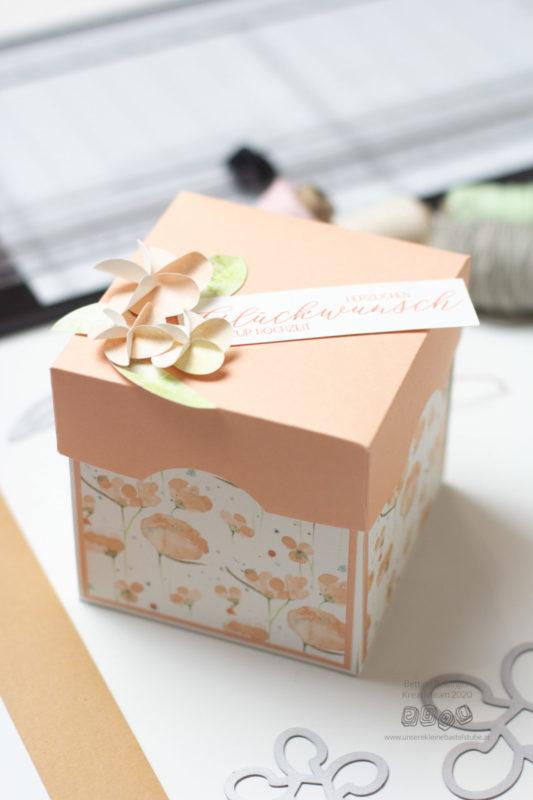 Explosionsbox Herzlichen Glückwunsch zur Hochzeit Bettina-06