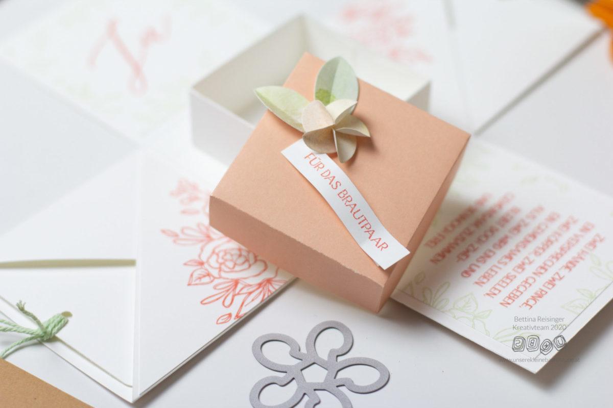 3 DIY Ideen - Geschenke zur Hochzeit | Unsere kleine Bastelstube - DIY Bastelideen für Feste & Anlässe