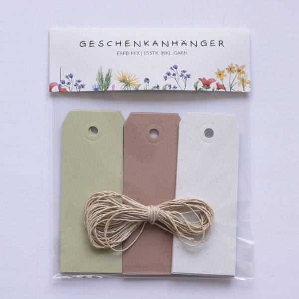 Geschenkanhänger-DIY-Set-Wildblumen-Naturpapier-Geschenke-verpacken-Papieranhänger