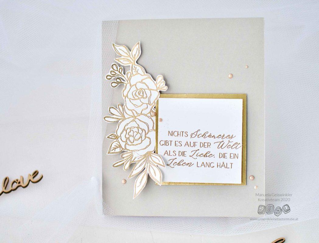 Diy Ideen Glückwunschkarte zur Hochzeit selber machen