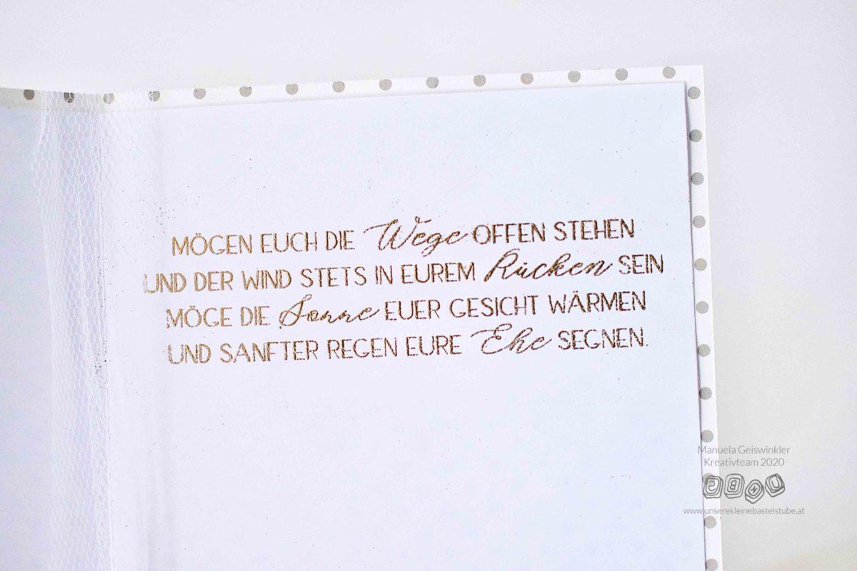 Hochzeits Glückwunschkarte Manuela-6