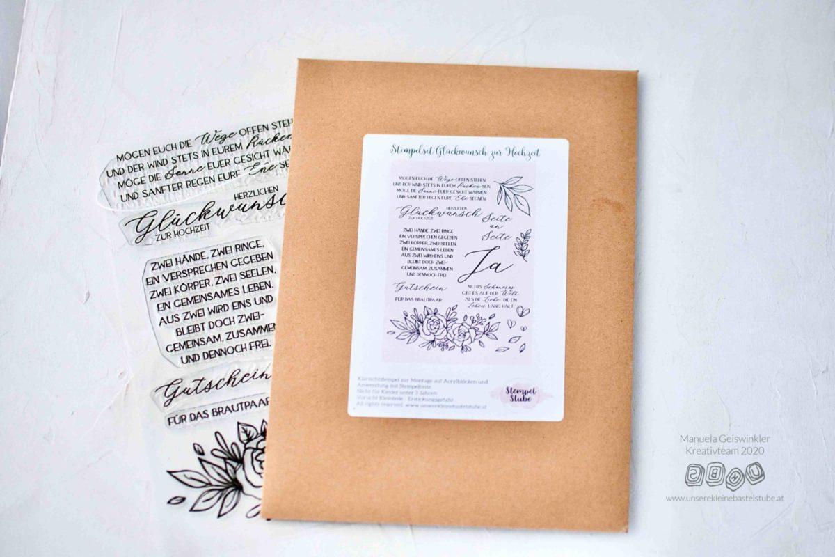 Hochzeits Glückwunschkarte Manuela-7