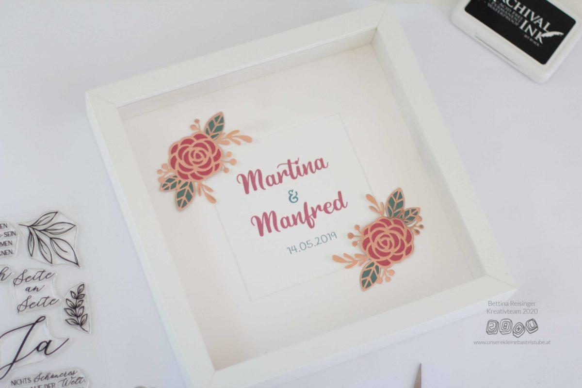 Rahmen für die Hochzeitsgeschenk - Martina-08