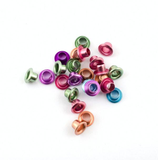 Schnürsenkelösen metallic pastell | Unsere kleine Bastelstube - DIY Bastelideen für Feste & Anlässe