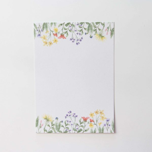 postkarten Wiesenblumen