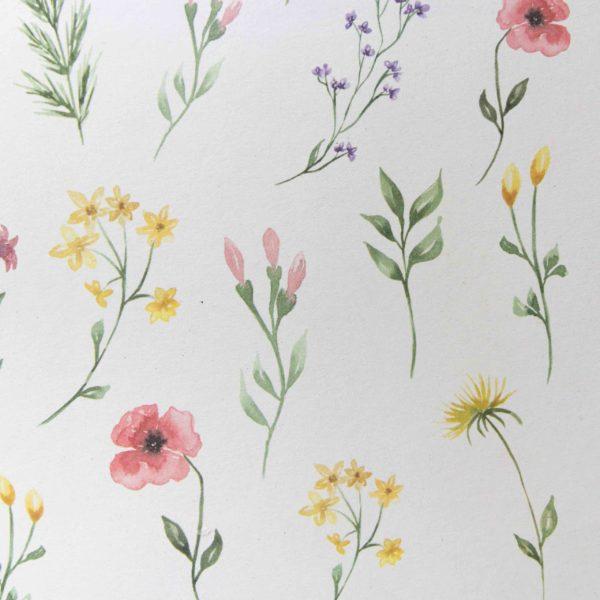 Ausschneidebogen Wiesenblumen | Unsere kleine Bastelstube - DIY Bastelideen für Feste & Anlässe
