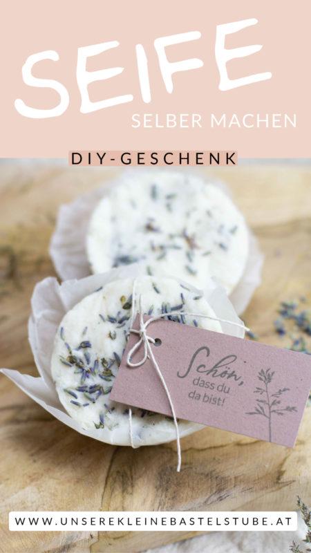 Seife selber machen - DIY Geschenkidee einfach selber machen