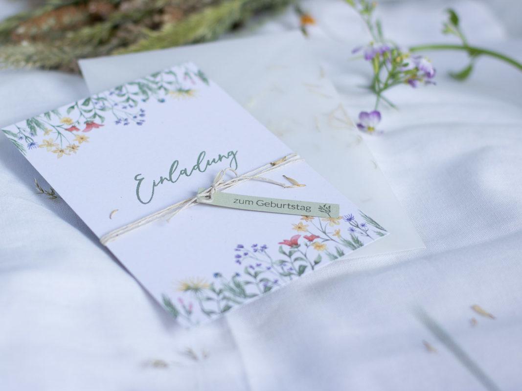 Einladung-selber-machen-mit-wiesenblumen-geburtstag-taufe