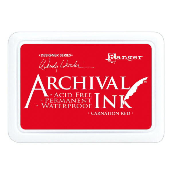 Rangers - Archival Ink Stempelkissen carnation red