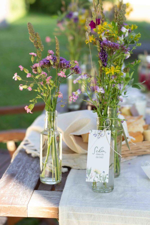 DIY-Set Feiern mit Wiesenblumen