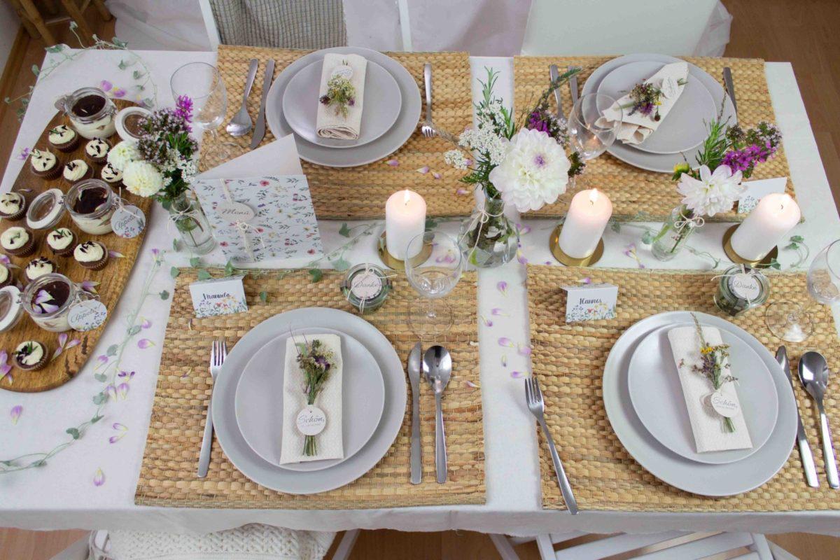 Tischdeko-Taufe-Mädchen-selber-machen-Wiesenblumen