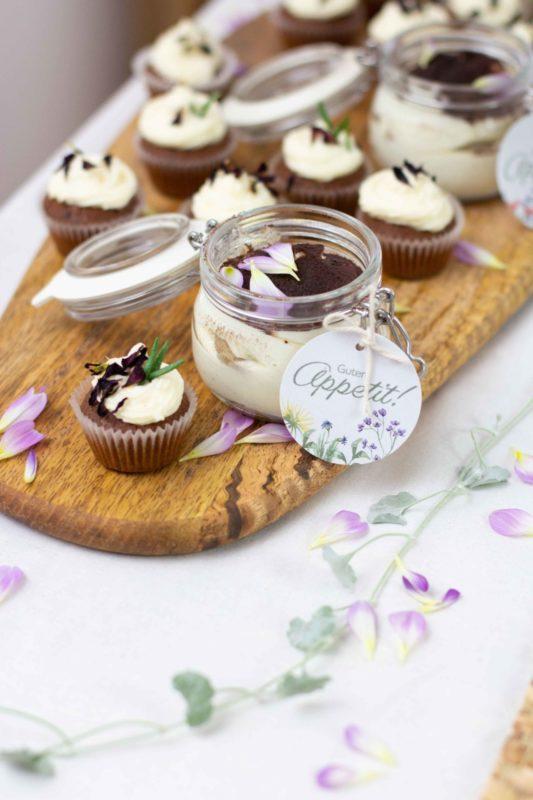 Nachspeise-Dessert-Taufe