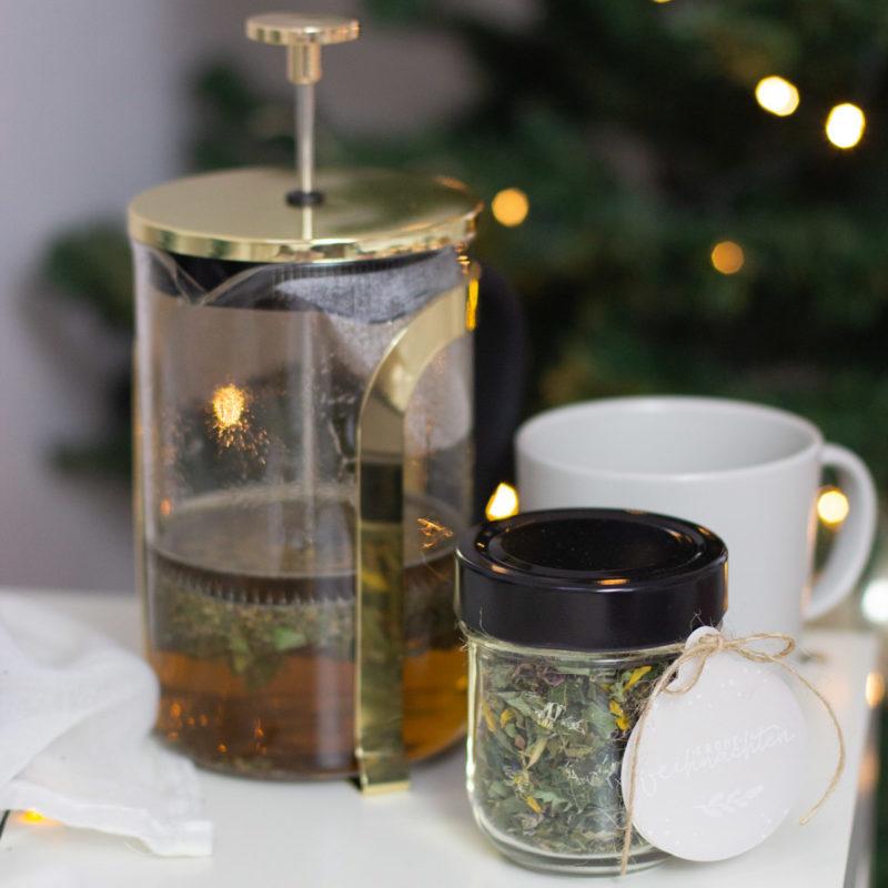 Tee selber machen für Weihnachten - DIY Geschenk