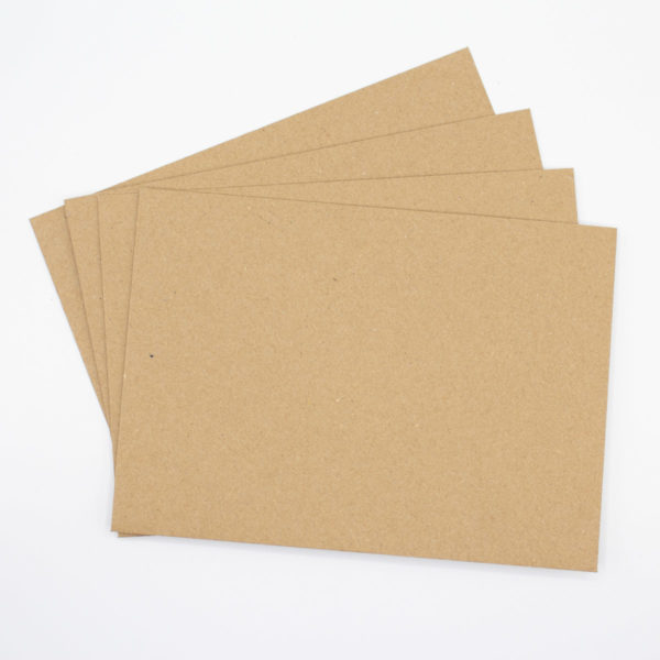 Briefumschlag Kraftpapier B6 für Weihnachtskarten, Hochzeit