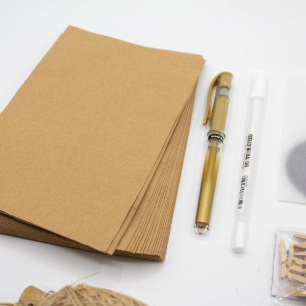 DIY Adventskalender basteln Skandi Stil