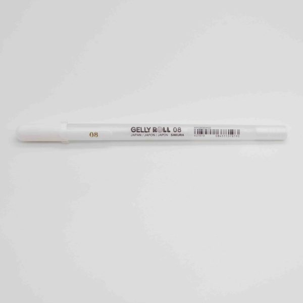 Gelly Roll 08 Weiß Sakura- handlettering