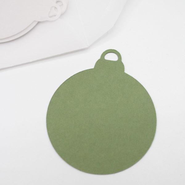 Geschenkanhänger Christbaumkugel - Geschenke für Weihnachten schön verpacken