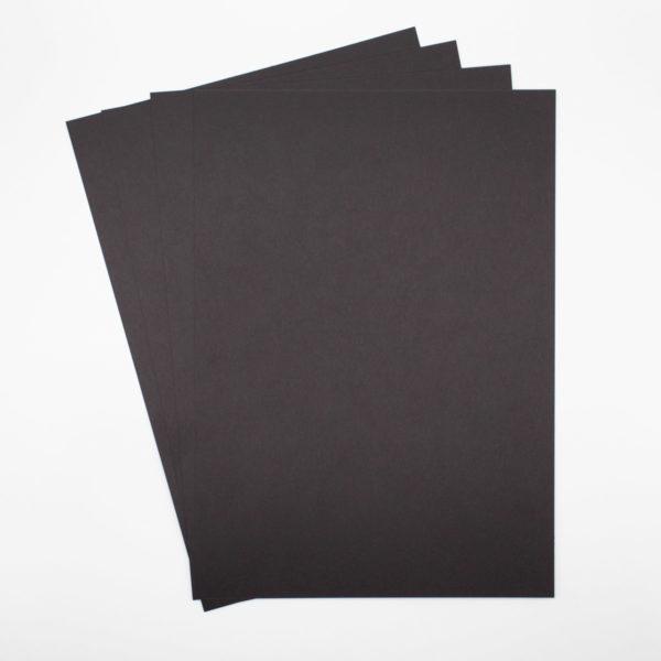 Papier Schwarz A4 270g DIY Karten und Verpackungen