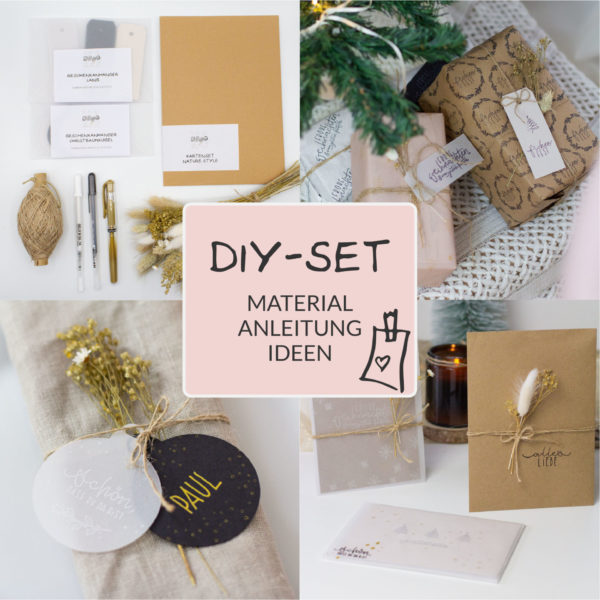 Basteln für Weihnachten - Karten basteln, Geschenke verpacken und Deko