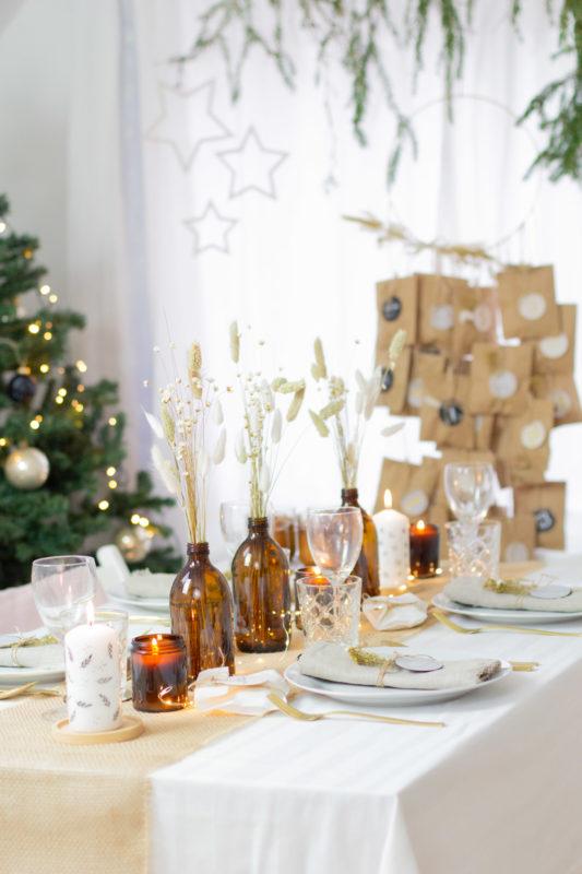Weihnachten Nature Style DIY Geschenke mit Papier und Stempel basteln mit Papier und Stempel basteln