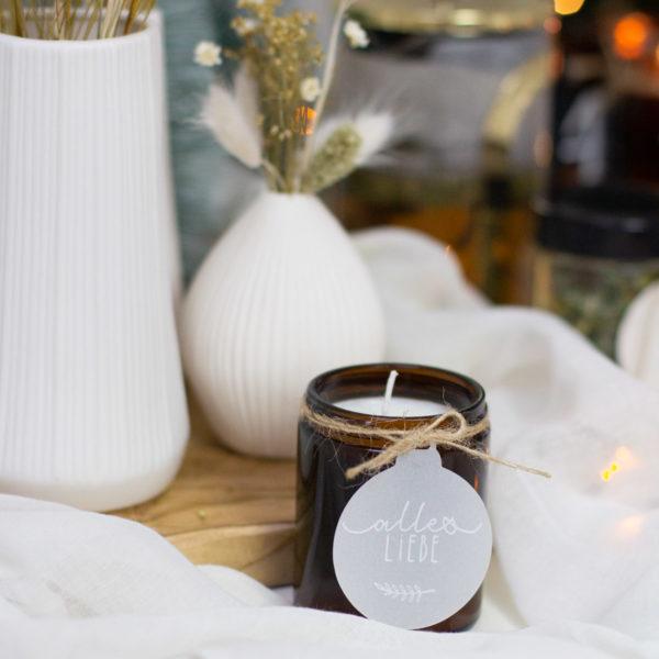 Braunlas Tiegel Kerze selber machen
