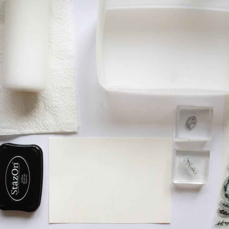 Kerze bestempeln mit Transferfolie (Decalfolie) | Unsere kleine Bastelstube - DIY Bastelideen für Feste & Anlässe