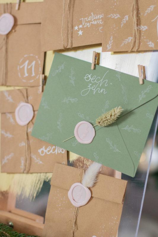 Briefumschläge versiegeln