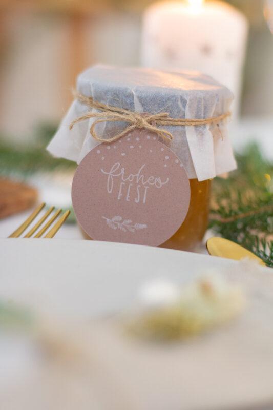 DIY Geschenkidee - Bratapfelmarmelade selber machen | Unsere kleine Bastelstube - DIY Bastelideen für Feste & Anlässe