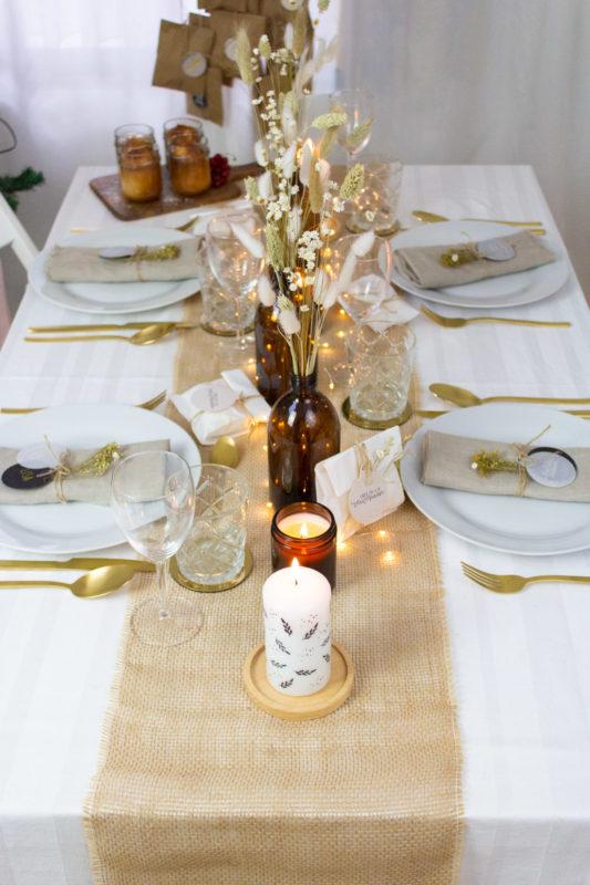 Weihnachtliche Nachspeise - Apfelkuchen im Glas mit Rezept | Unsere kleine Bastelstube - DIY Bastelideen für Feste & Anlässe
