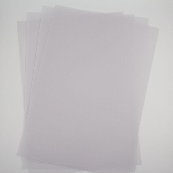 Pergamentpapier Premium 5 Blatt - A4 230g | Unsere kleine Bastelstube - DIY Bastelideen für Feste & Anlässe