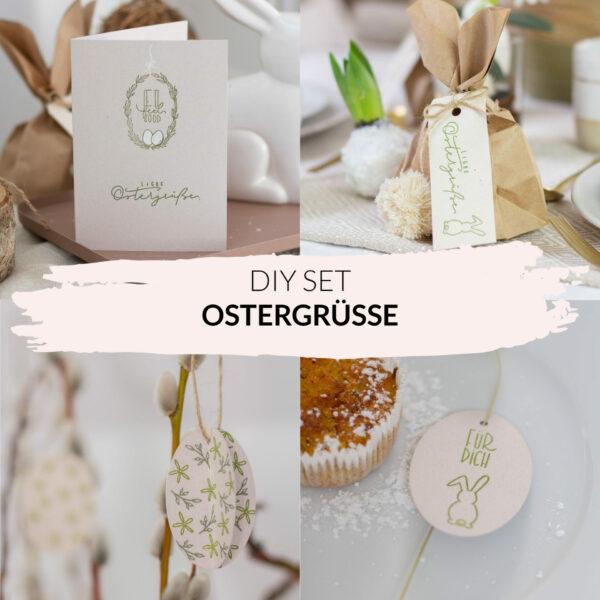 Basteln und Stempeln für Ostern - Osterkarten selber machen