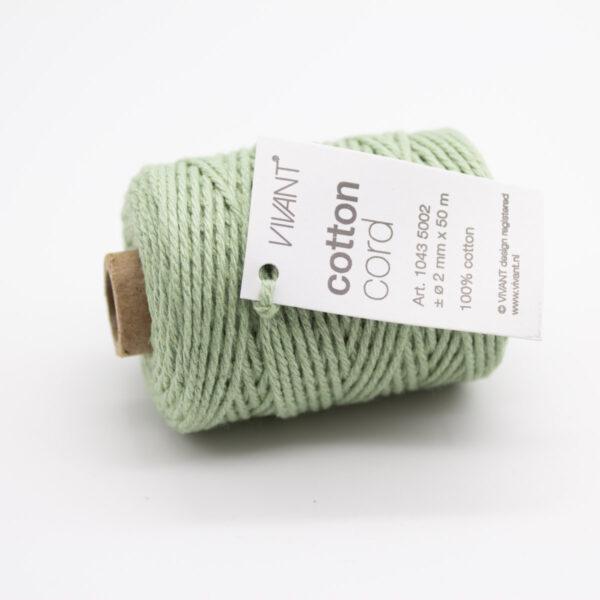 baumwollkordel-vivant-kordel-dunkelgrün