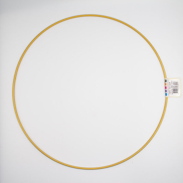 Metallring Gold 30 cm für DIY Projekte