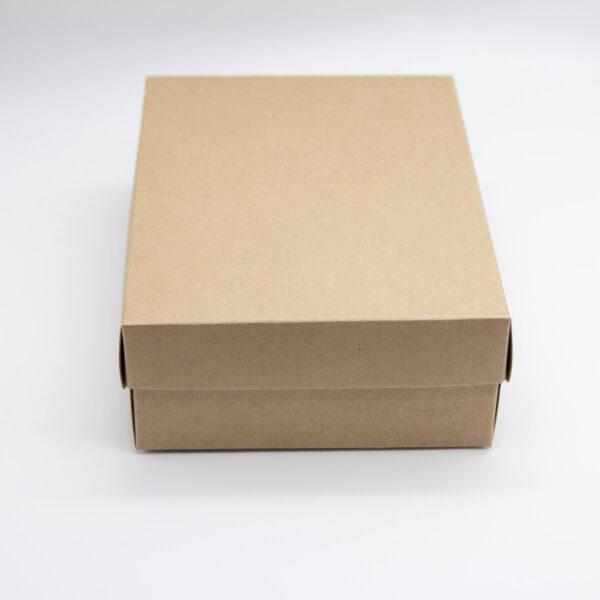Faltschachtel mit Deckel - Kraftkarton