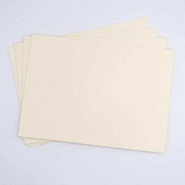 Briefumschlag Creme 5 Stück -B6